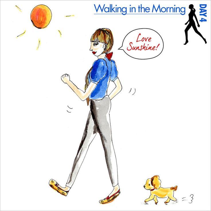 Day4 「朝ウォーキング」はいいことがいっぱい!
