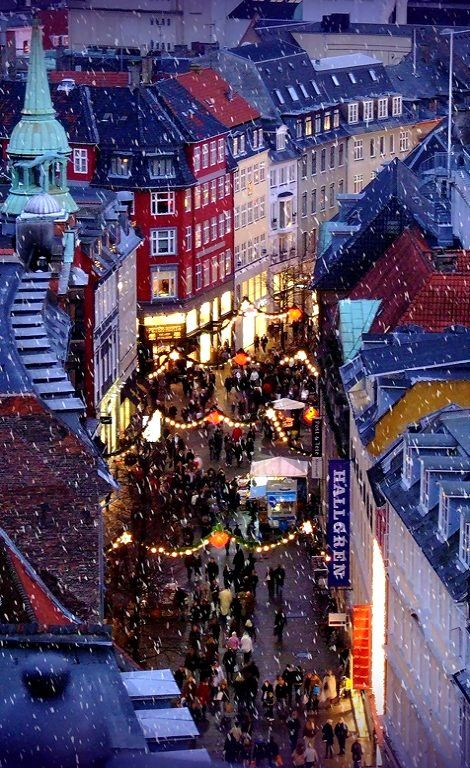 Copenhagen at Christmastime, Denmark