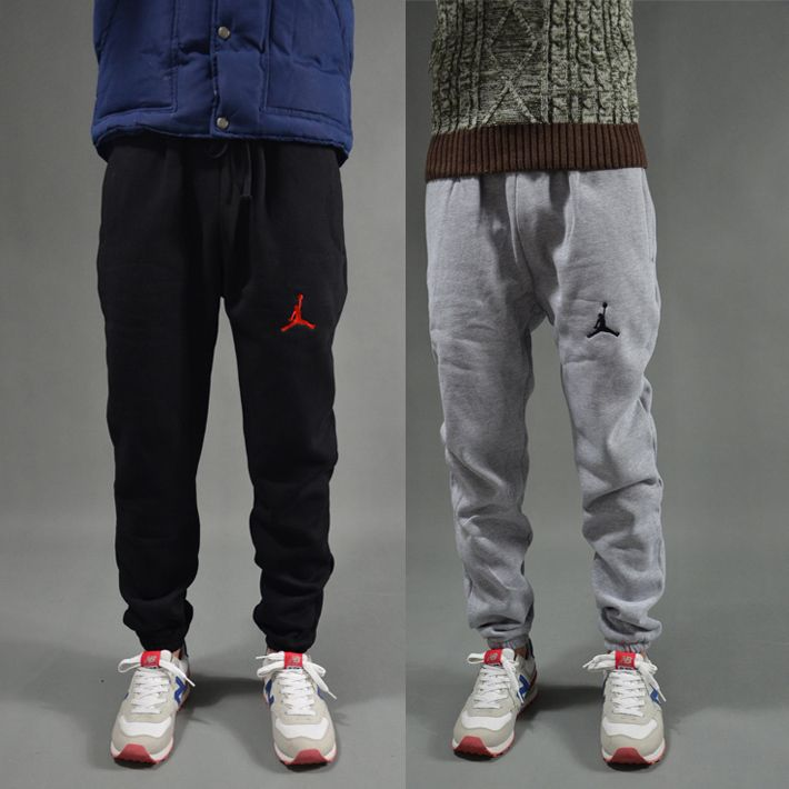 M-XXL black grey designer jogger authentic jordans sweatpants slim fit basketball sport pants casual fashion jordan joggers