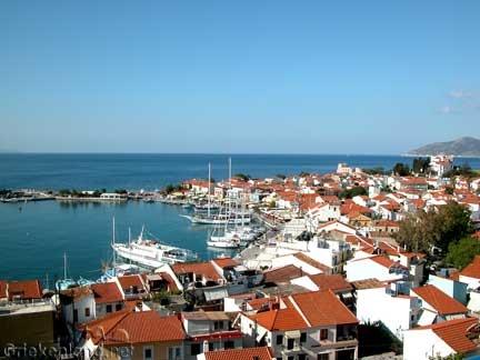 Beautifull Pythagorion on Samos