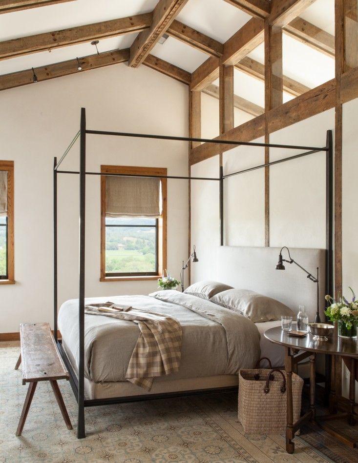 Rustic Yet Refined Healdsburg Edition Bedroom InteriorsBedroom