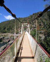 Cataract Gorge, in the heart of Launceston.