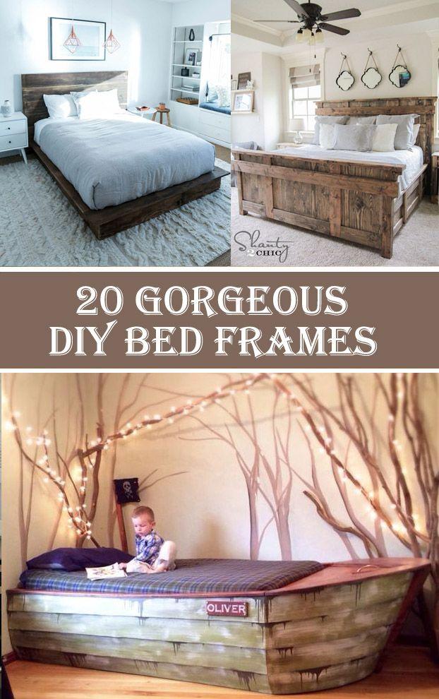 20 Gorgeous DIY Bed Frames