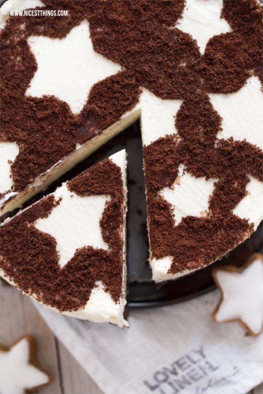 Kuchen mit Sternen Backschablone