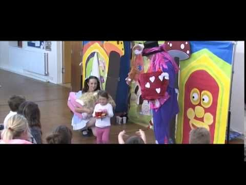 Charity performance by Act One Productions Touring Pantomime Company