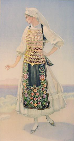 #21a - Woman's Costume (Lokris, Livanates)