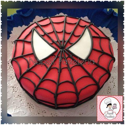 Napell Pasteleria: Spiderman