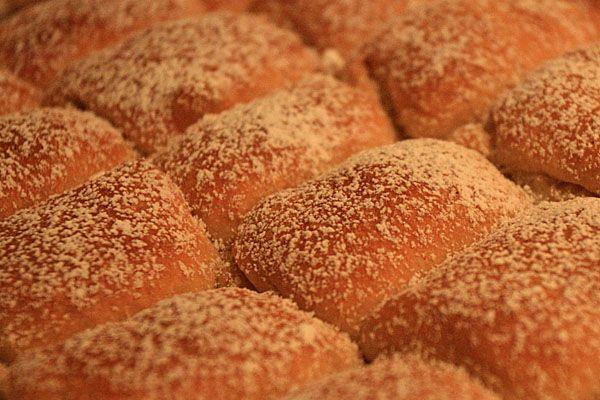 Buchty (Czech sugar buns)