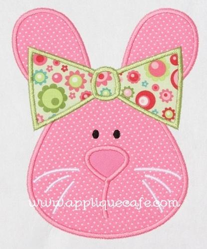 Applique Cafe - Girl Bunny