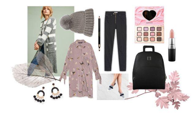 Keep warm your body with long wool cardigan and fur pom hat. Warm Casual by tmrw-studio on Polyvore featuring #TinaJo #NewYorkandCompany #EugeniaKim #TooFacedCosmetics #MAC #Clarins #tmrwstudio #tmrwstudionyc #newyork #nyc #fall #autumn #cold #winterlike #keepwarm #longcardigan #wool #furpomhat #longshirt #pink #monotone #grey #black #white #pattern #essentials #daily #casual #streetstyle #ootd #handbags #backpack #ROBERT #shoes #flats #mules #polyvore #tictail #fancy