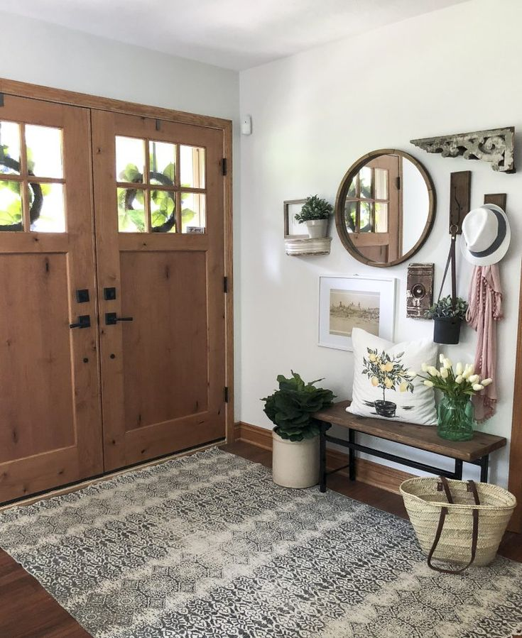 How To Create A Welcoming Summer Entryway