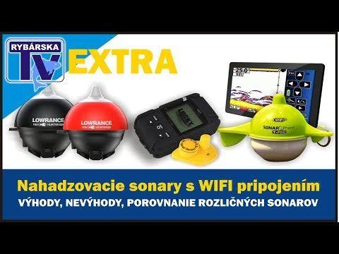 Rybárska TV EXTRA: Nahadzovaci sonar - porovnanie