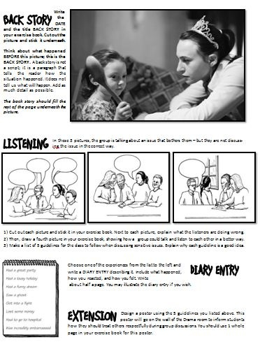 HD wallpapers middle school drama worksheets dlovefwalli.cf