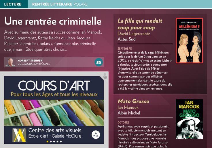Une rentrée criminelle - La Presse+