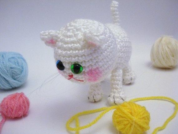 Amigurumi Kitten : Pattern, Tutorial, Amigurumi Pattern, Amigurumi Cat ...