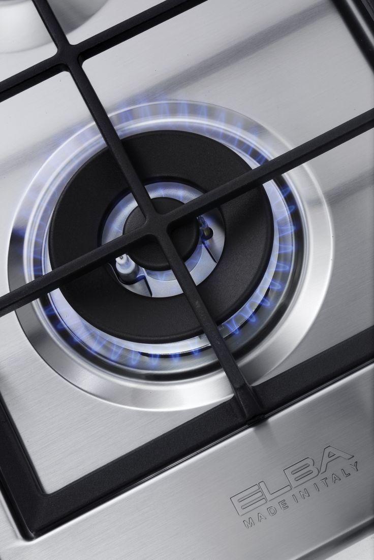 ELBA Gas Hob - Burner Detail