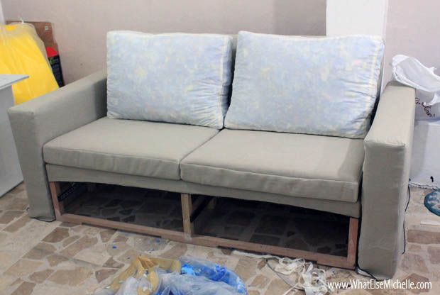 Diy sofa with storage diy furniture pinterest id es for Couch 0 interest