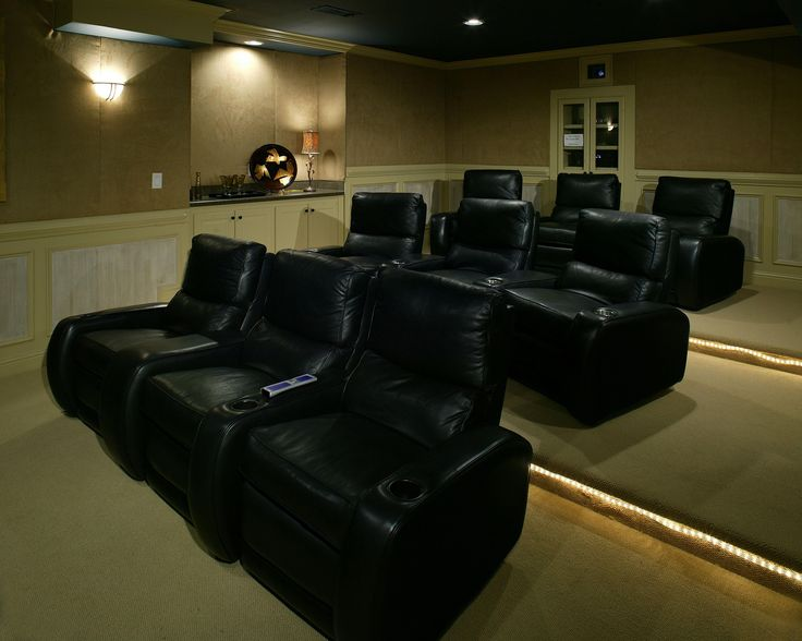 Elevated Seating Is Not Something We All Think About Before Installing A Home Theater Bu Home Theater Seating Home Theater Installation Home Theater Furniture