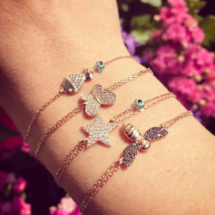 #Kurshuni #Spring #Summer / Pesce, Farfalla, Stella e Ape: ecco alcuni charm della nuova collezione di Kurshuni! La foto è di sabrinabi.com
