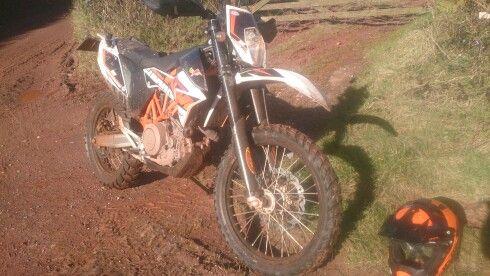 Another muddy day in Devon
