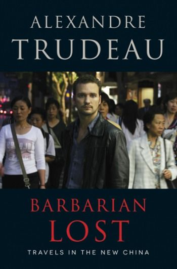 Alexandre Trudeau was in Ottawa yesterday for the Writers Festival to present his new book.