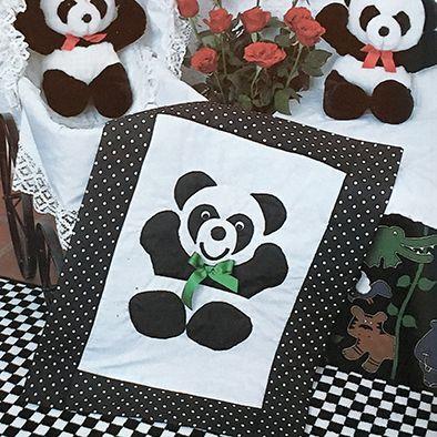 Pandas en papawers vir pikkies