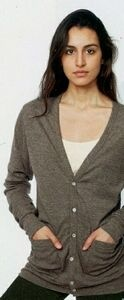 American Apparel Tri-blend Rib Cardigan (Embroidery) http://www.tucllcpromo.us/apparelsweaters.htm