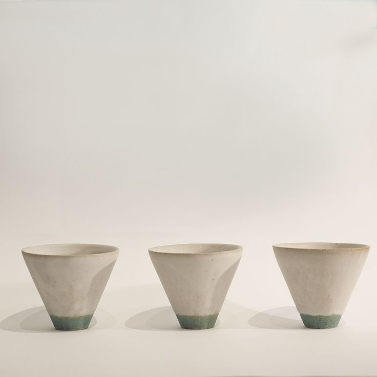 Cups by Yoko Ozawa.  Available in store and online.