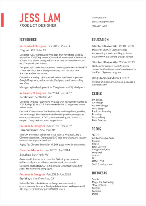 80 best Resume \/ CV images on Pinterest Career, Cv ideas and - ios developer resume