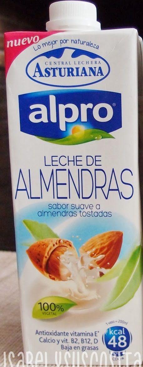 Leche de Almendras Alpro Central Lechera Asturiana (Supersol) - 1 vaso 1 p