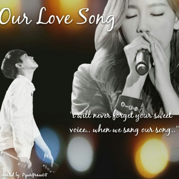 Baekhyun, Taeyeon (Baekyeon)  Our Love Song. edited by me