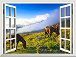 Horse Wall Decals   Removable   Large   Lifelike