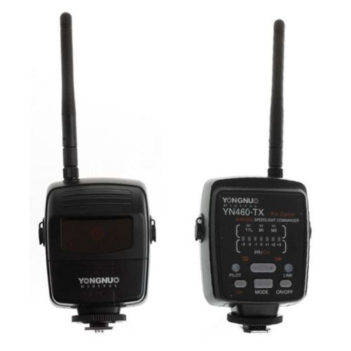 YONGNUO YN460-TX i-TTL 2.4G Wireless Speedlite Commander for Canon 400D 350D 7D