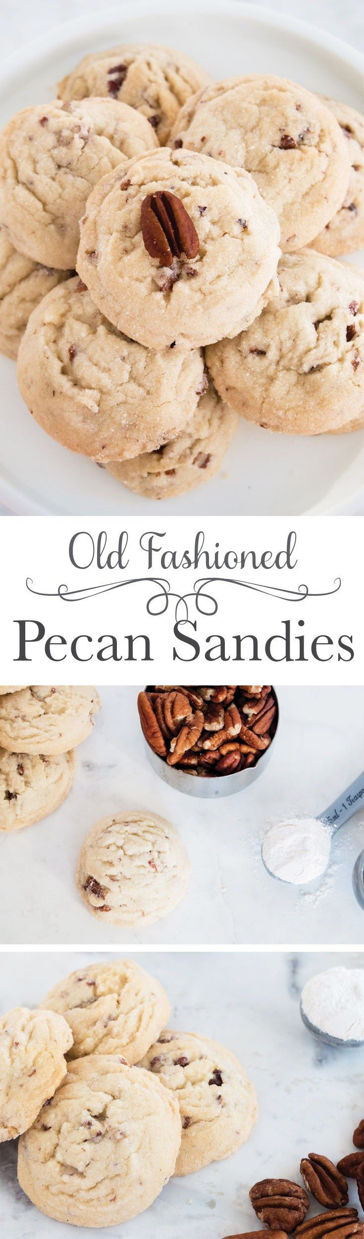 Melt in your mouth pecan sandies - These bring back so many memories of my childhood! Way better than those store bought ones too!