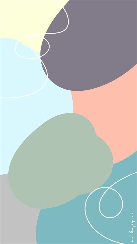 Walpaper Aesthetic Pastel | Seni Abstrak, Abstrak ...