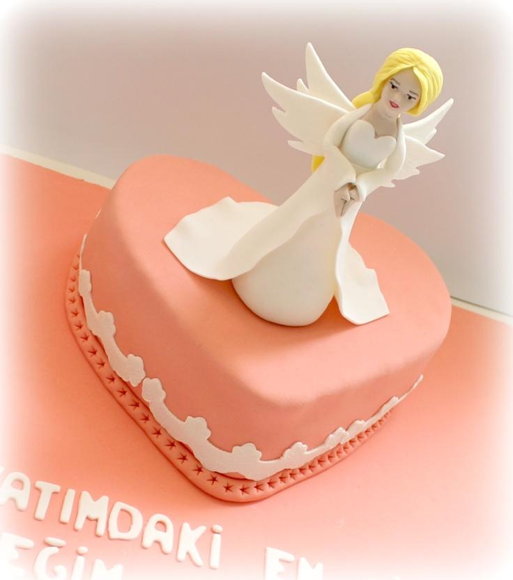 Angel Birthday Cake Designs angel birthday cake ebruli cake design ...