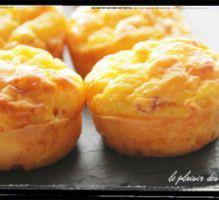 Recette - Mini muffins au potiron et comté - Proposée par 750 grammes