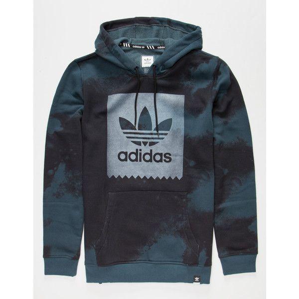 Adidas D2D AOP Mens Hoodie ($55) ❤ liked on Polyvore featuring men's fashion, men's clothing, men's hoodies, medium blue, mens tie dye hoodie, mens hooded sweatshirts, adidas mens hoodies, mens hoodie and mens hoodies