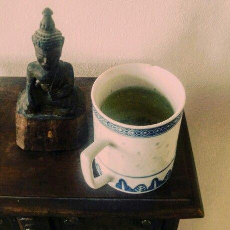 green tea & meditation
