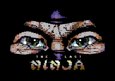The Last Ninja PETSCII by wile coyote