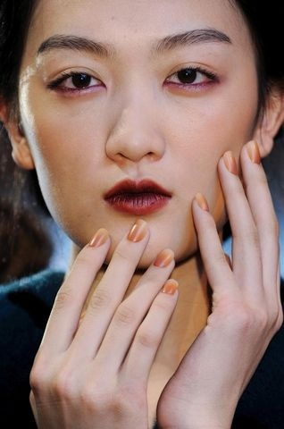 Ombre at Christian Cota by CNDFashion Weeks, Matte Nails, Nails Trends, Christian Cota, Nails Art, Nails Colors, Fall Nails, Ombre Nails, Hair Color