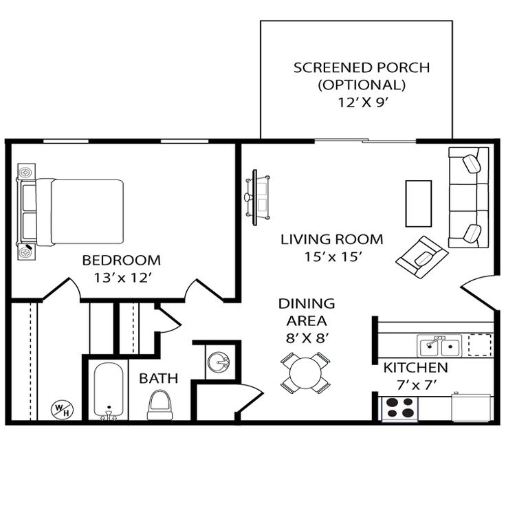 20 best Floor Plans images on Pinterest | Floor plans, Baths and 3/4 ...