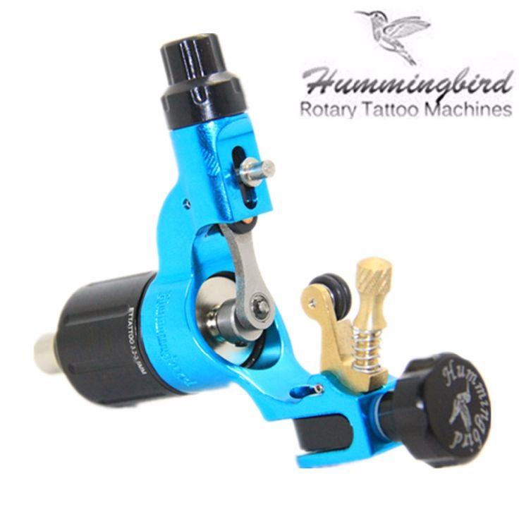 (152.00$)  Watch here - http://aiwft.worlditems.win/all/product.php?id=32740086497 - Tattoo Rotary Machine Original Hummingbird Blue Color Second Generation V2 Rotary tattoo machine swiss motor  free shipping