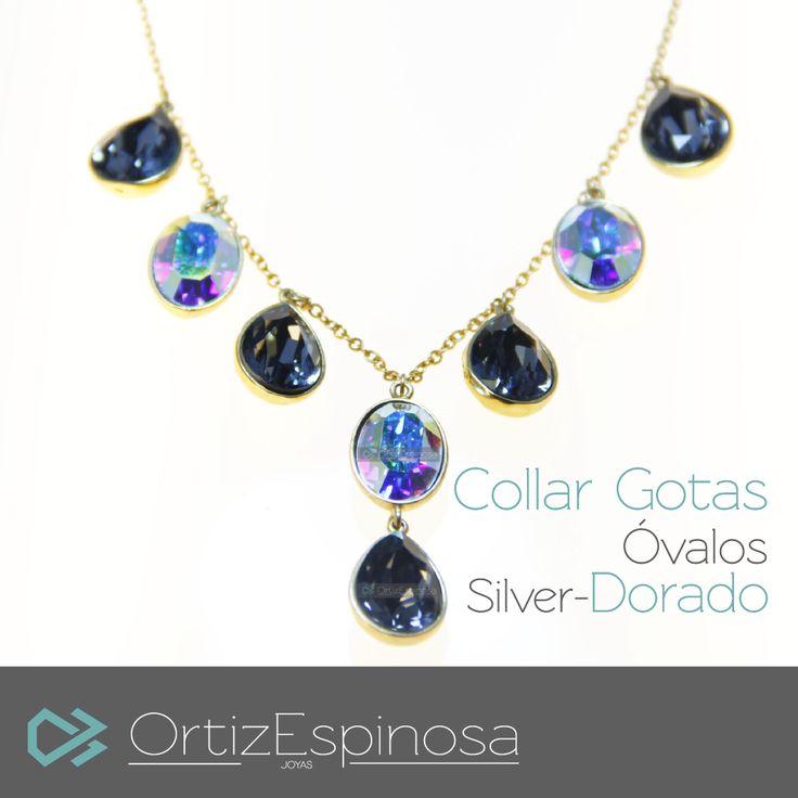 #Collar de Gotas y Óvalos, un ejemplo de la #elegancia en diseño de #OrtizEspinosa.