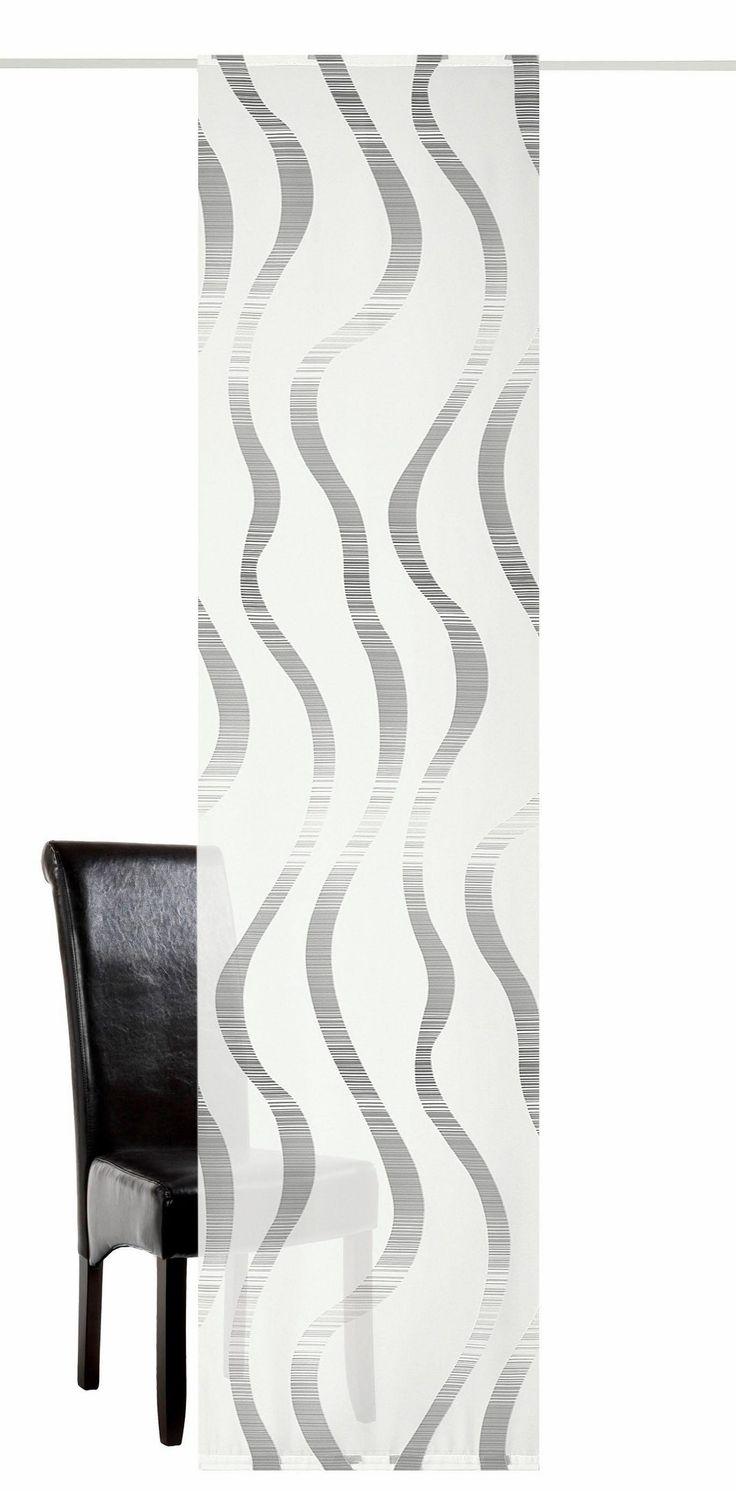 Schiebegardine, deko trends, »Lea«, mit Klettband (1 Stück mit Zubehör) online kaufen   OTTO