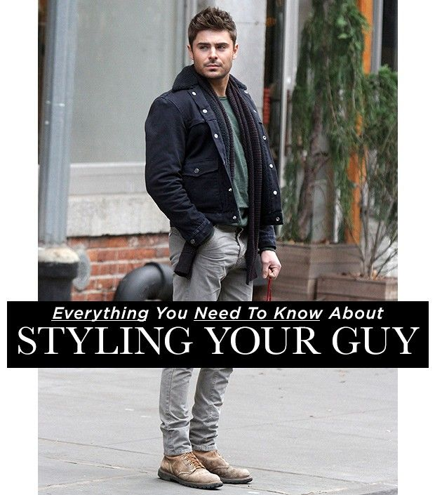 Everything You Need To Know About Styling Your Guy