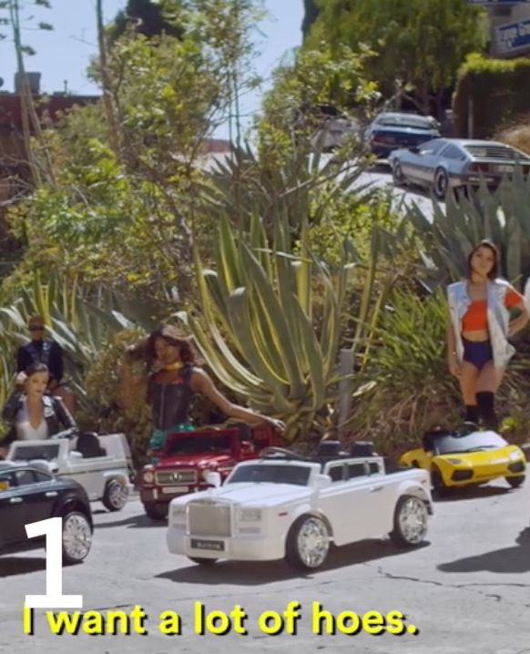 Top 10 Music Videos of 2017 So Far - shots Selects…#1: Young Thug - Wyclef Jean