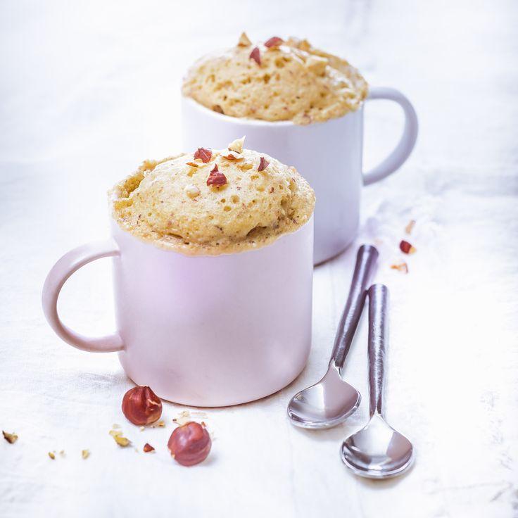 Mug cake au yaourt et noisettes- Cuisine Companion de Moulinex votre compagnon culinaire au quotidien