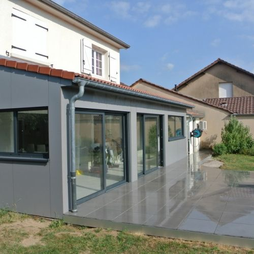 7 best Extension Ossature bois u2013 25m2 Thionville images on Pinterest