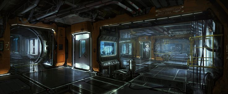 Image result for 3d spacecraft interiors
